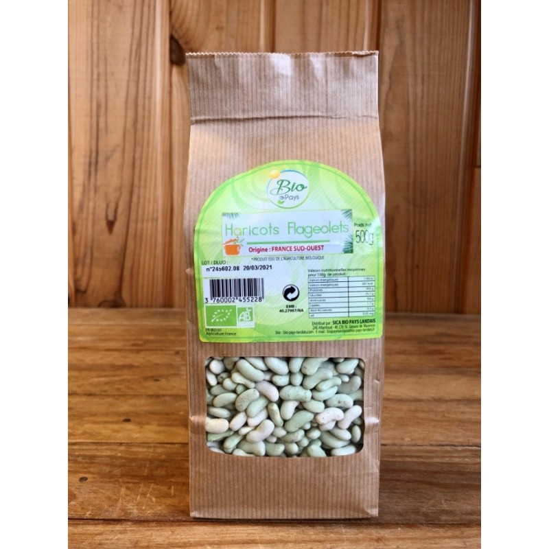 Haricot sec flageolet ( 500 grs )