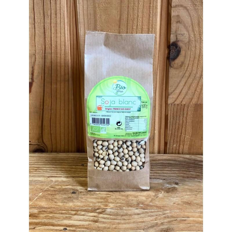 Graine de Soja Blanc (500 g)