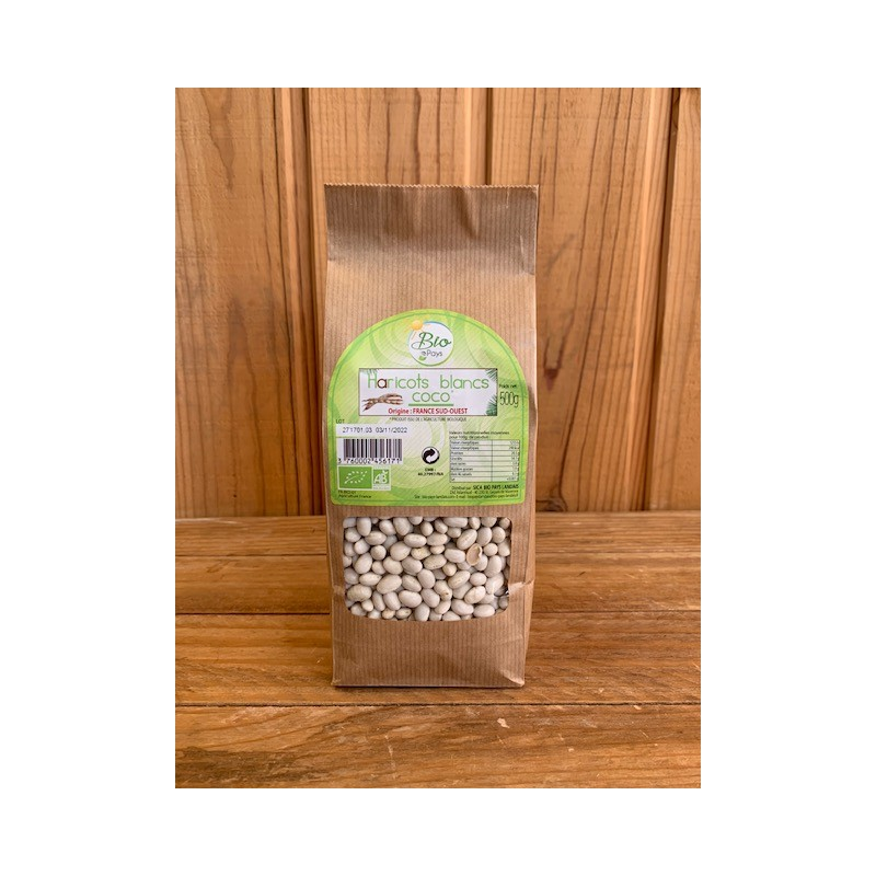 Haricots Blancs Coco (500 g)